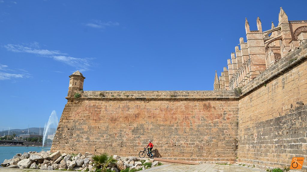 Seaside Bike Tour Cathedral, Cycling in Palma
