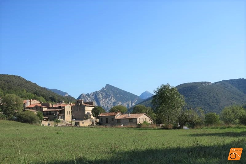 oix town, Pyrenees mountains