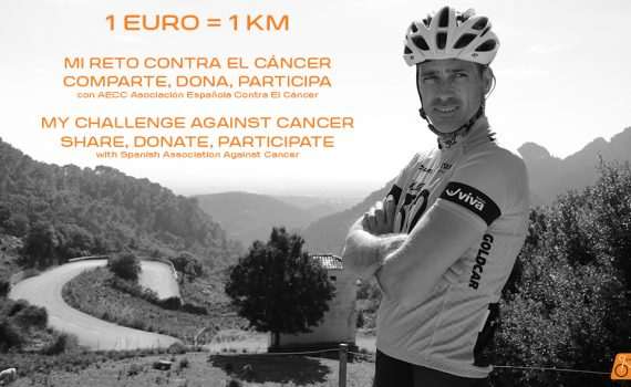 challenge against cancer 1 euro 1 km